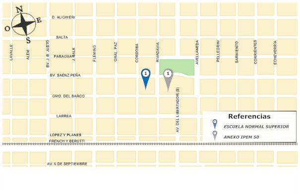 Mapa barrio catedral